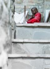 Stairs to prayers