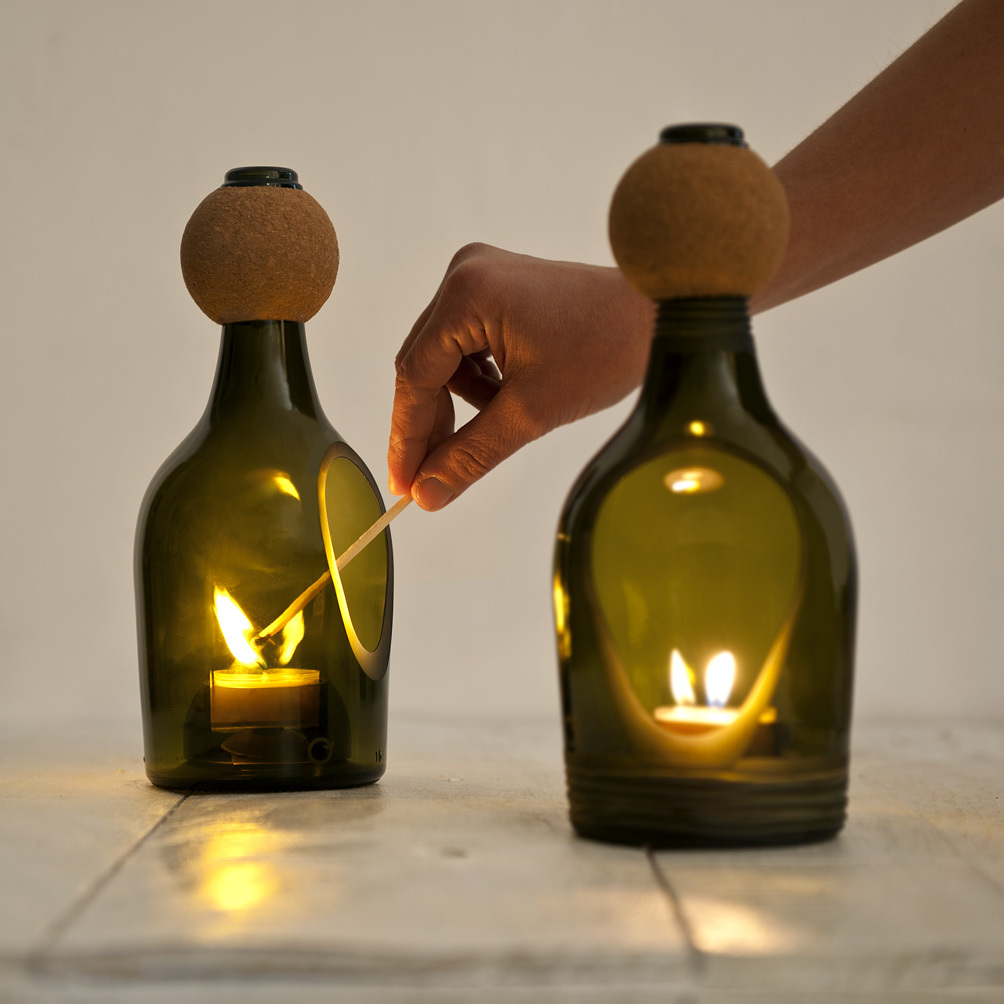 Wine bottles upgrade lucirmas silvia casali - Superstudio barcelona ...