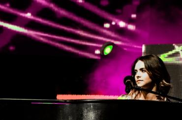 Francesca Michieling Deejay On Stage Riccione 2017 silvia casali photography