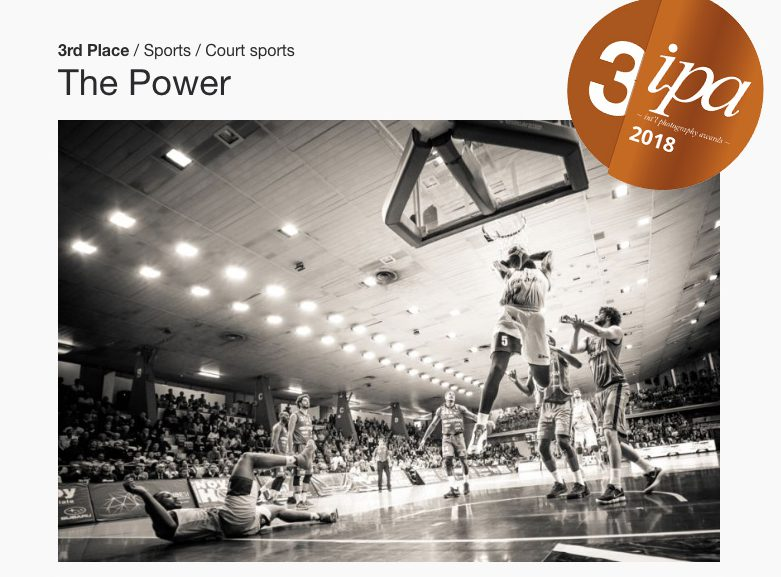 The Power by silvia casali ranked 3 at IPA 2018