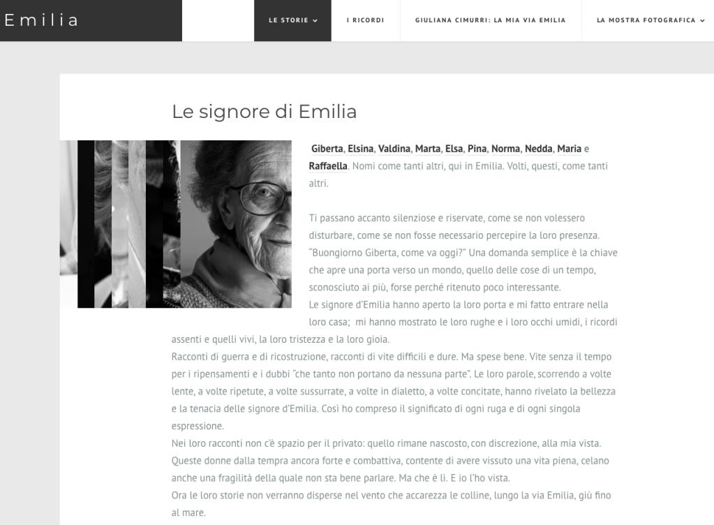 Emilia Mostra Fotografie Silvia Casali