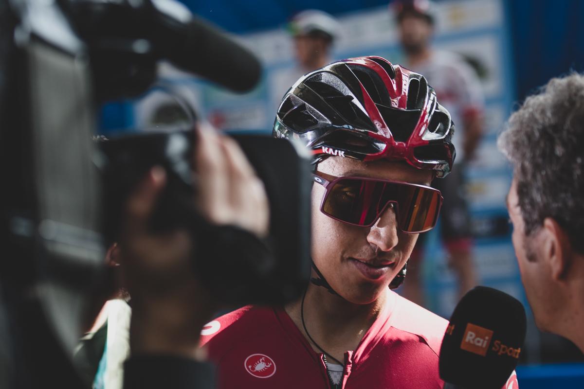 Egan Bernal Giro dell'Emilia 2019