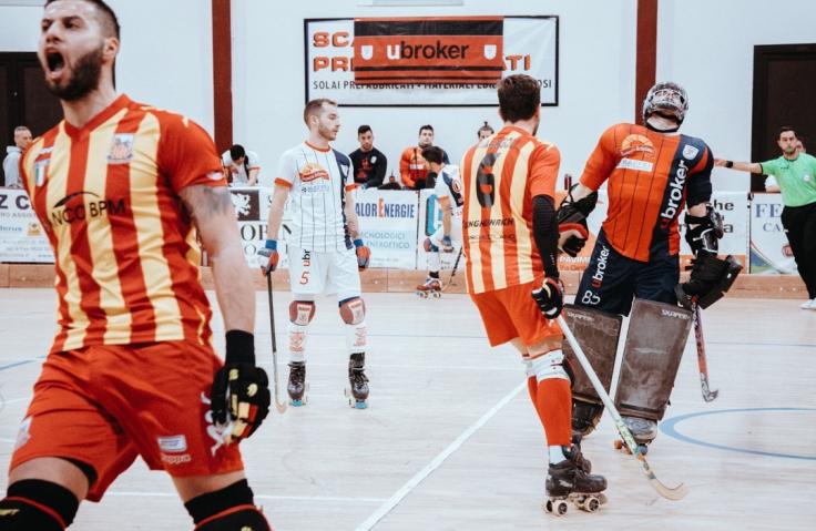 Ubroker Hockey Scandiano VS Lodi