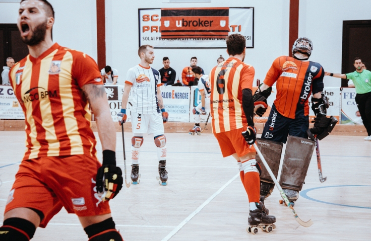 Ubroker Hockey Scandiano VS Lodi