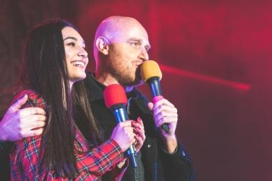 MariaSole Pollio e Rudy Zerbi al DeejayOnIce 2019