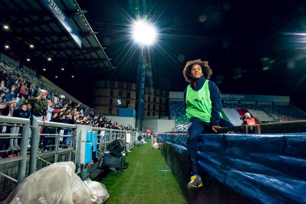 Sara Gama Capitano nazionale italiana vs irlanda calcio femminile silvia casali