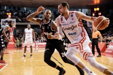 Pedro Aguilar Reggiana vs Virtus Bologna derby - Lega Italiana Basket A 2019