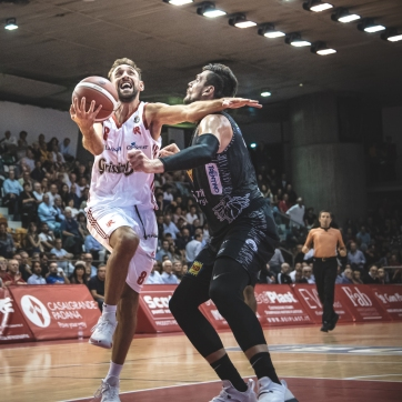 pallacanestro reggiana vs trento silvia casali photography-160