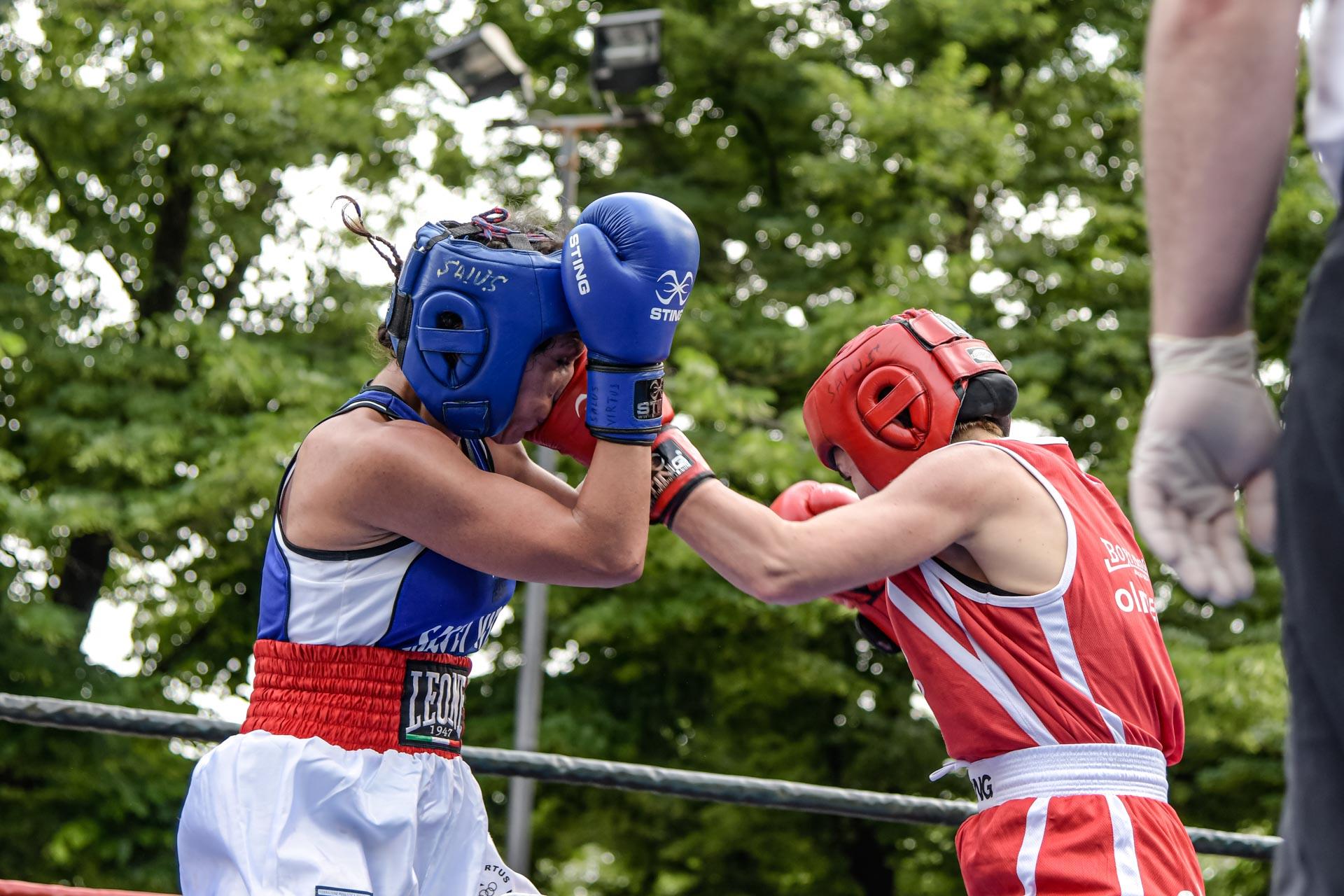Rosalba Marcone Boxe Tricolore